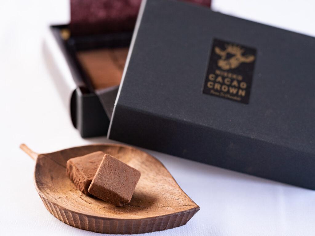 カカオクラウン 生チョコレート