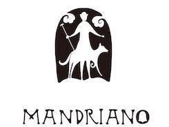 ピザマンドリアーノのロゴ